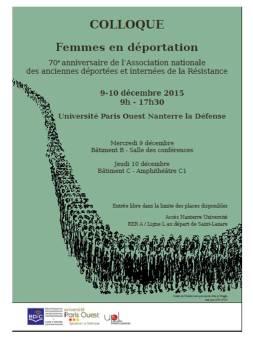 Femmes en déportation